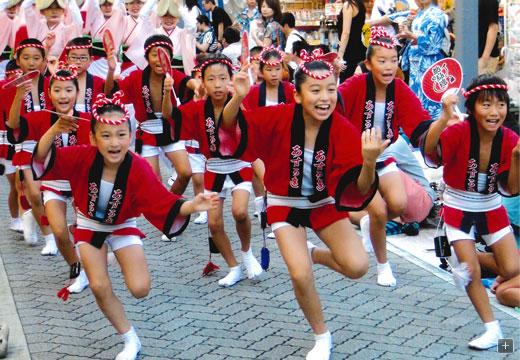 「阿波踊り 子供踊り」の画像検索結果